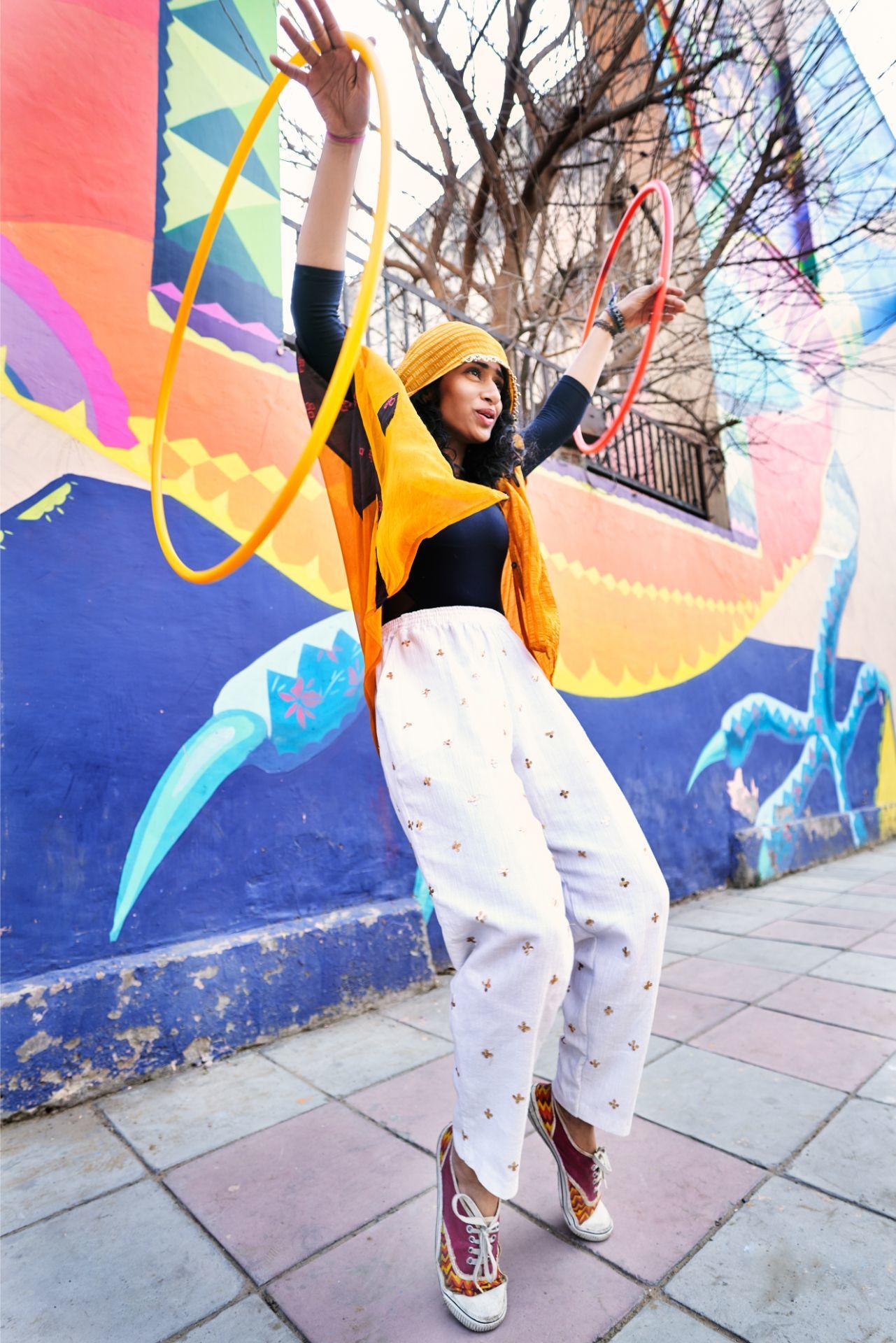 Dance hoop hula clothing waacko graffiti